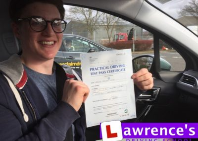 Jacob Passed!