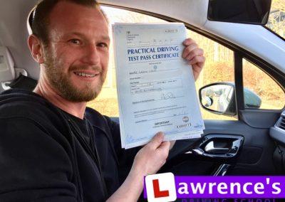 Gareth Passed!