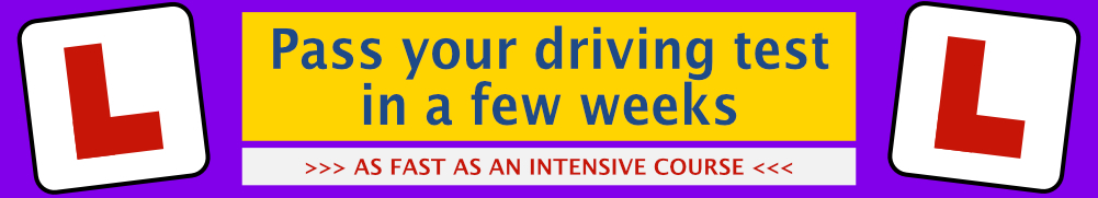 Driving lessons in Kettering