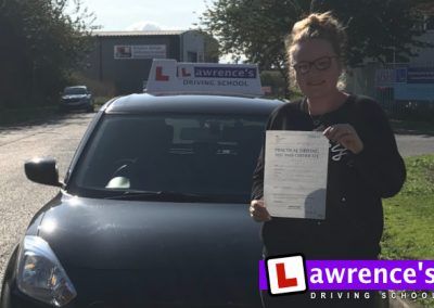 Jodie Passed!
